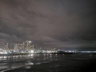 Durban skyline by night