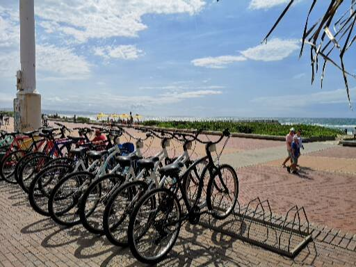 Rent a bicycle in Durban